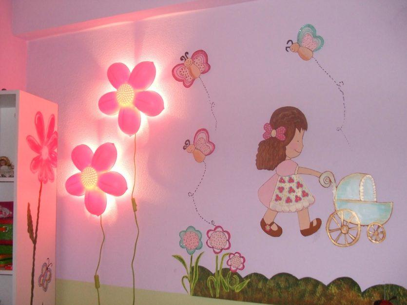 Как раскрасить детскую комнату своими руками