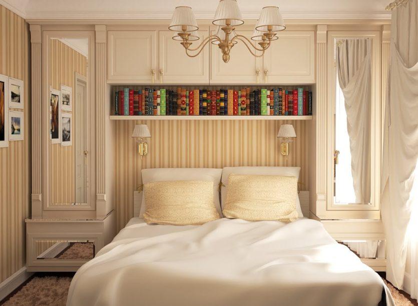Спальня в стиле дизайн