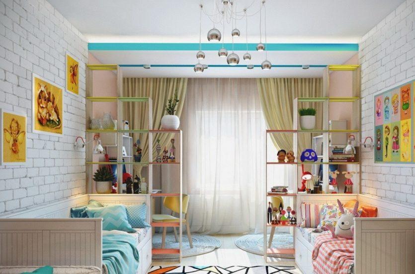 Детская комната 10 кв. м. - уютный и стильный 9
