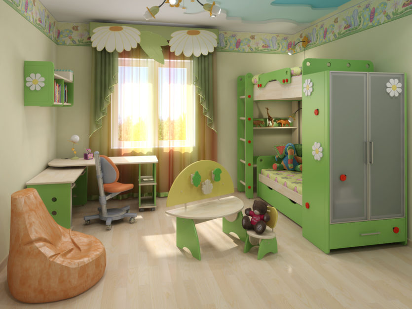 детская комната 10 кв м уютный и стильный дизайн 60 фото идей