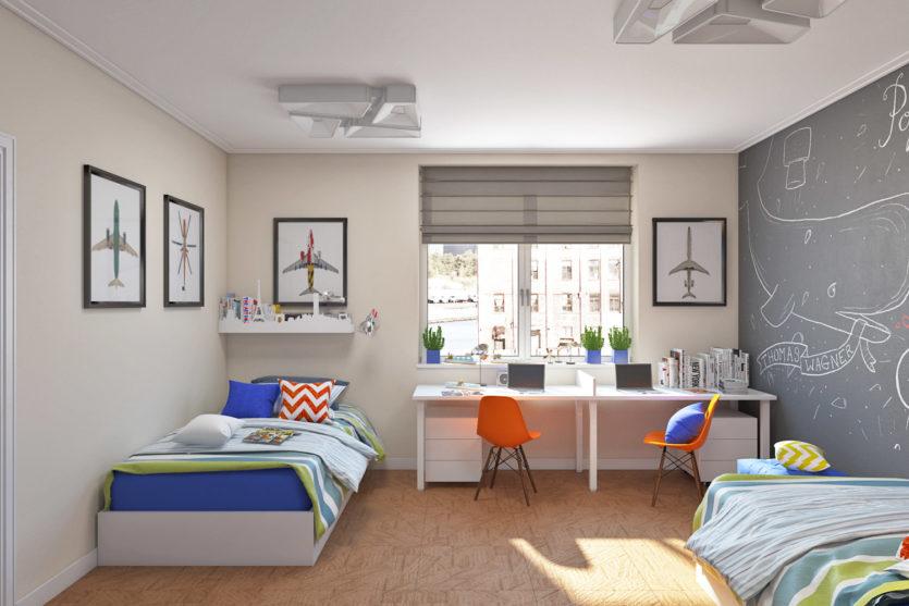 детская комната для двоих детей 58 фото примеров отличных идей
