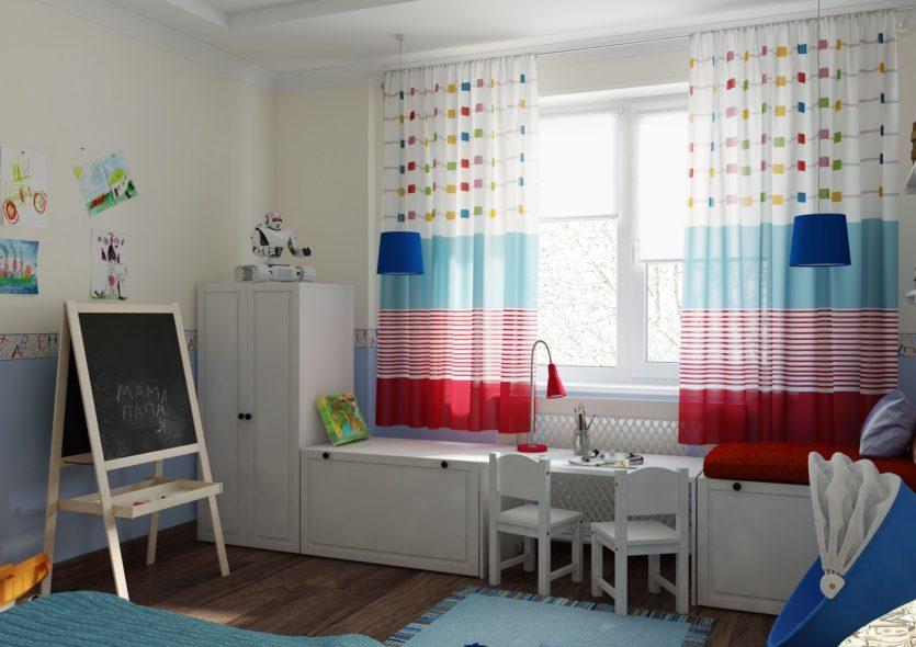 Дизайн детской с мебелью икеа
