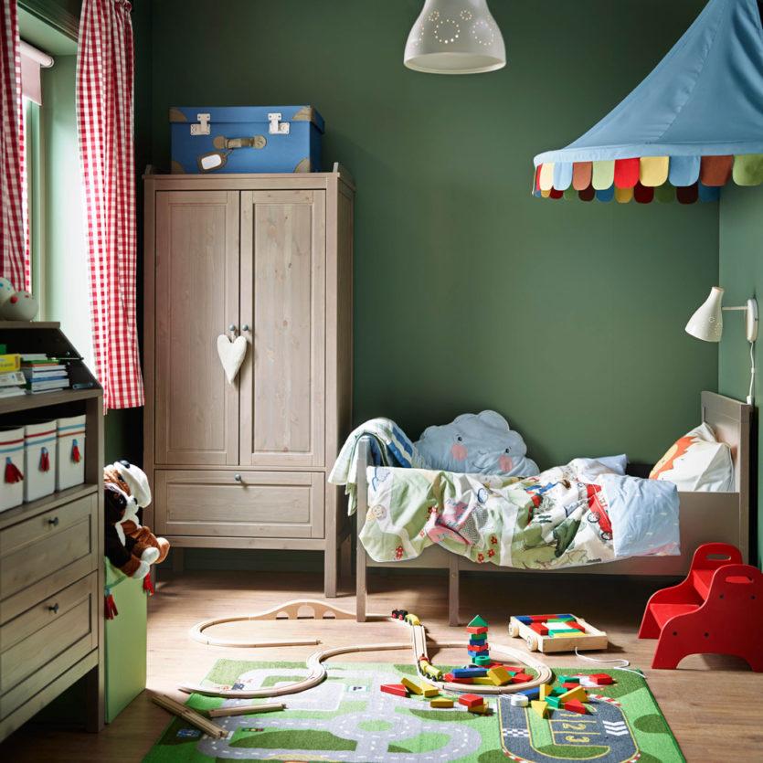 детская комната от икеа 60 фото модного дизайна