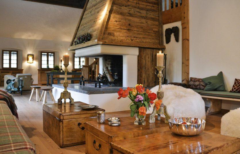 гостиная в стиле шале фото вариантов безупречного сочетания