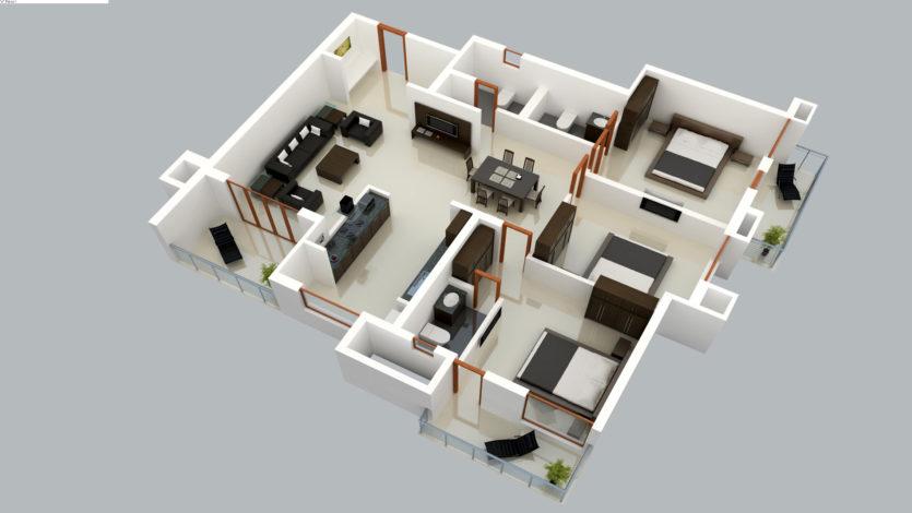 комнатной квартиры Ступино – Москва
