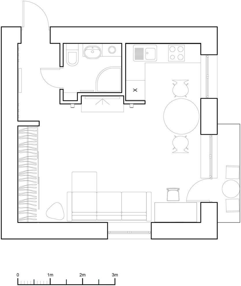 Схема двухкомнатной квартиры хрущевки фото 445