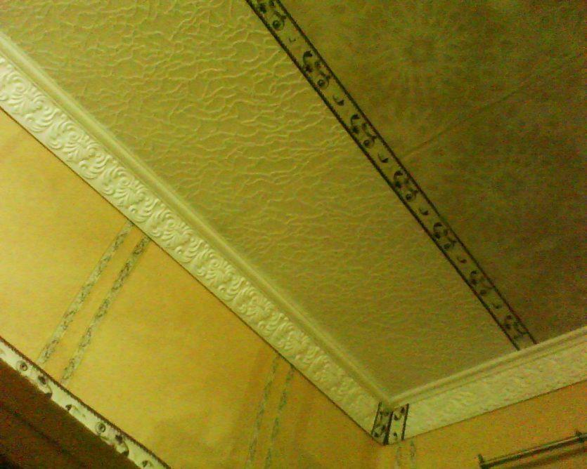 Потолки из плитки своими руками