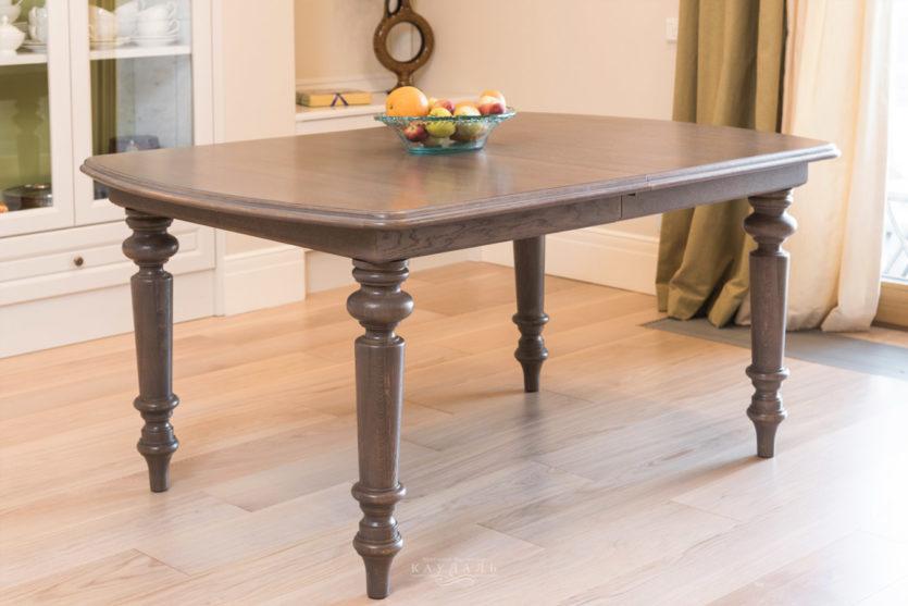 Деревянный стол для кухни - 70 фото новинок дизайна.