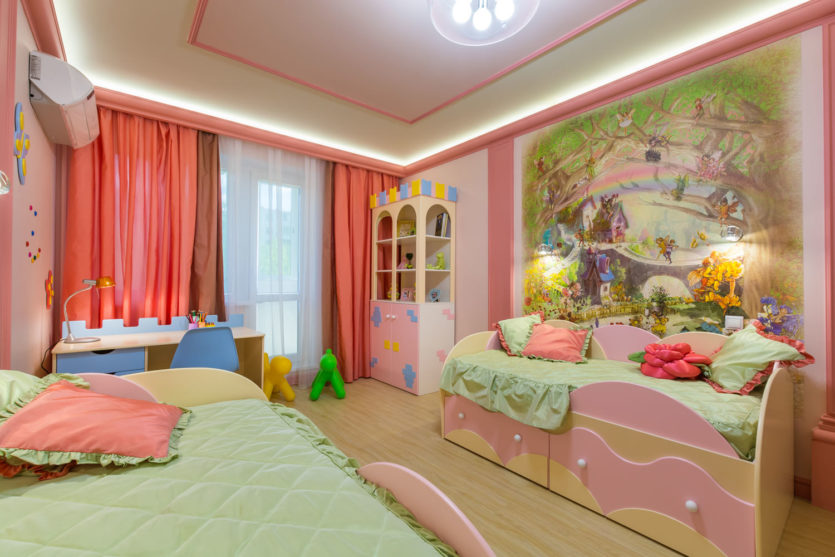 Zoning childs room 7