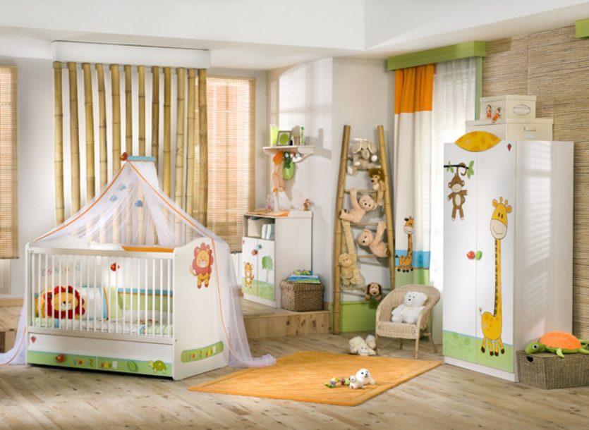 Дизайн для детской для новорожденного мальчика