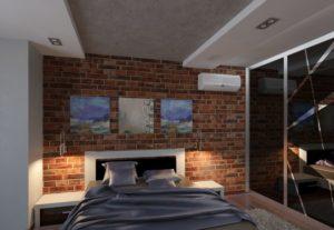 Spalnya v stile loft 14